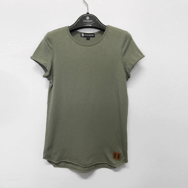 Beau Hudson Raw Edge Military Tall Tee