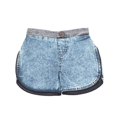 Children of the Tribe Chambray Acid Boys Shorts Afterpay Cool Kids Clothes
