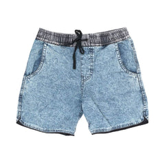 Children of the Tribe Chambray Acid Drawstring Shorts Afterpay Cool Kids Clothes