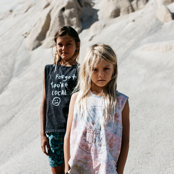 Children of the Tribe Singlet | Earth | Last Two Afterpay