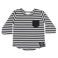 Children of the Tribe Sky Above Stripe Raglan Tee