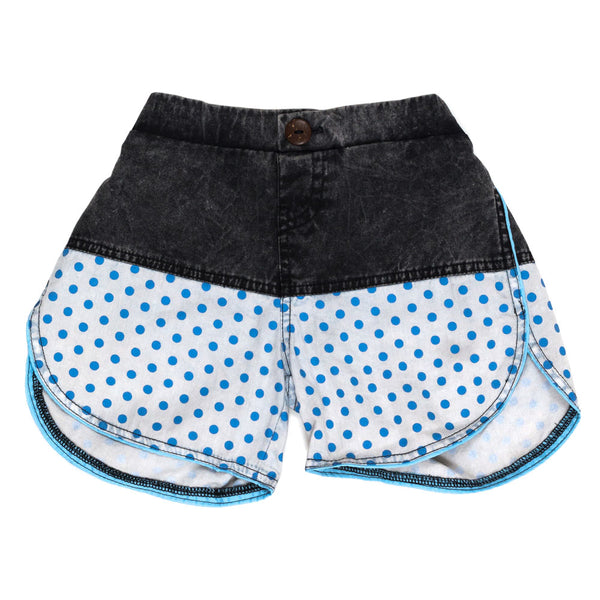 Children of the Tribe Shorts | Chambray Stone | Size 1-2Y Last One Afterpay