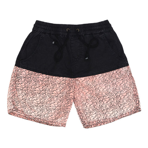 Children of the Tribe Drawstring Shorts | Deep at Sea | Size 6-8Y Last One