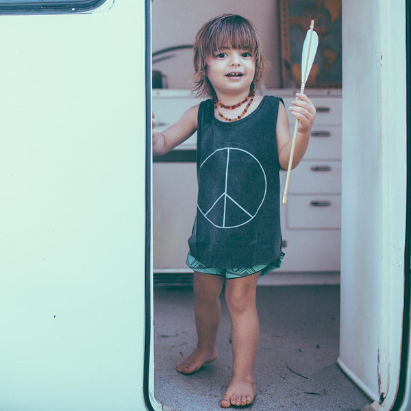 Children of the Tribe Singlet | Peace | Size 6-12M Last Two Afterpay