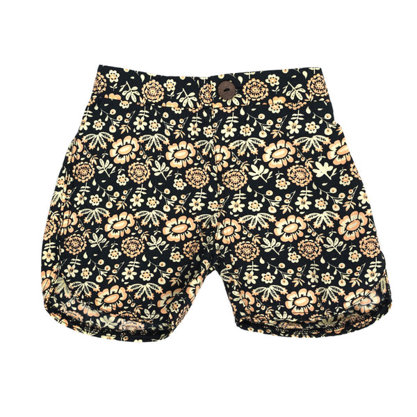 Children of the Tribe Shorts | Vintage Flora | Size 1-2Y Last One Afterpay