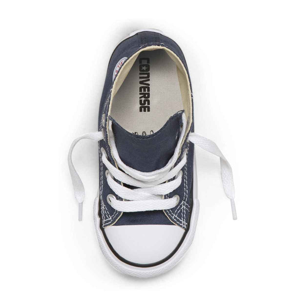 Converse Kids Chuck Taylor All Star Toddler High Top Navy Boys Shoes