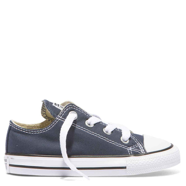 Converse Kids Chuck Taylor All Star Toddler Low Top Navy Afterpay