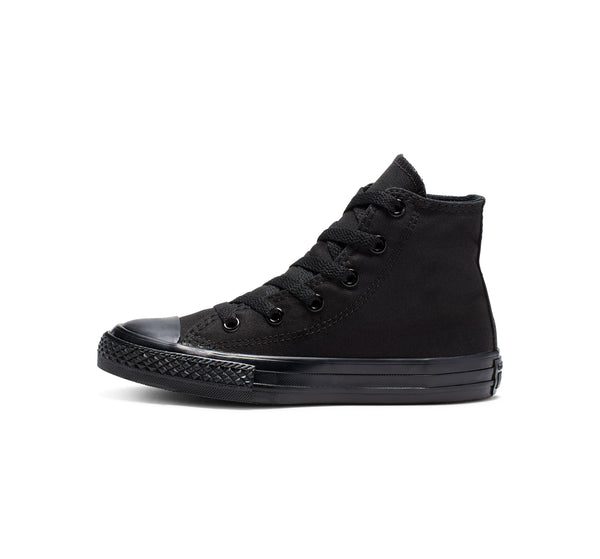 Converse Kids Chuck Taylor All Star Junior High Top Black Monochrome