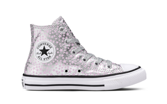 Converse Kids Chuck Taylor All Star Junior High Top Star Pink Glaze