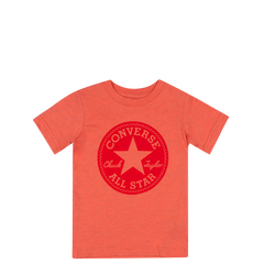 Converse Kids Boys Overdye Junior Chuck Patch Tee Red Heather | Size 6 Last Two