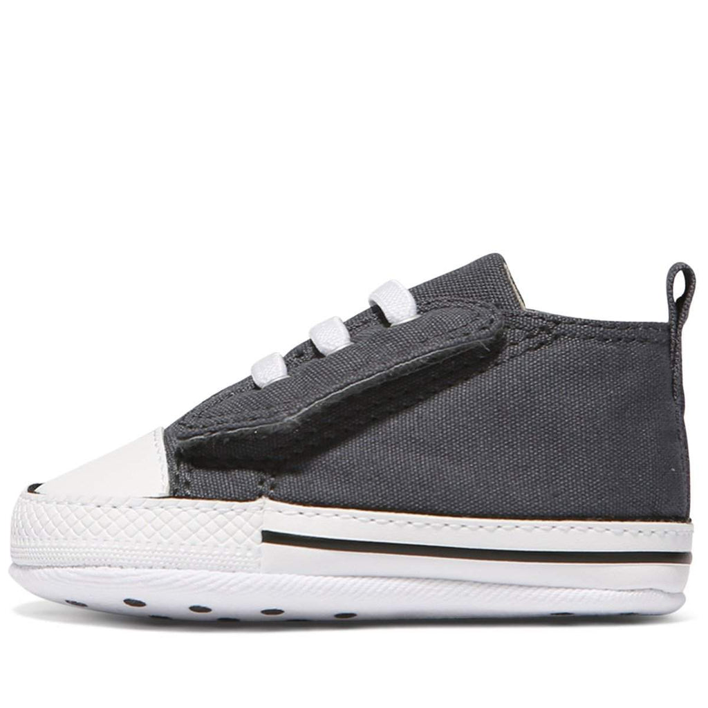 ... Baby Converse Chuck Taylor First Star Easy Slip | Charcoal | Size US 1  Last One ...