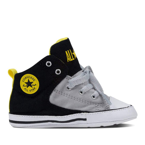Baby Converse Chuck Taylor First Star High Street | Black | Size 0-3M Last Two