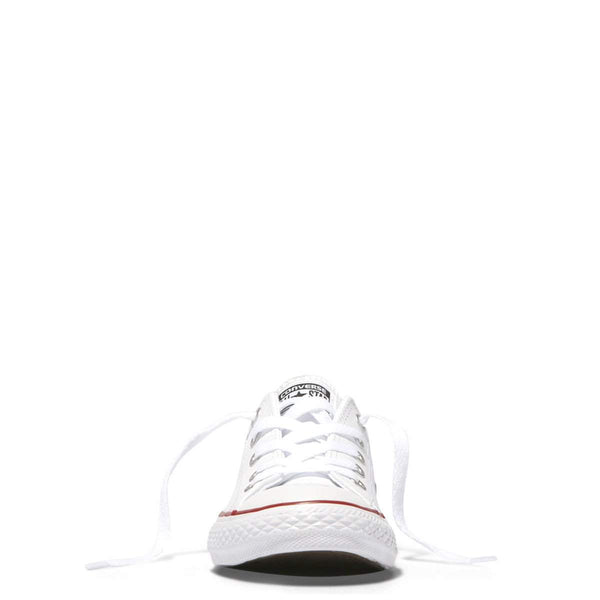 Converse Kids Chuck Taylor All Star Leather Junior Low Top | White | Last Two Afterpay