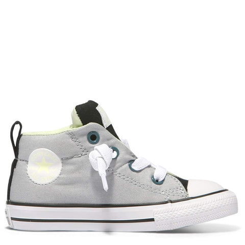 Converse Kids Chuck Taylor All Star Street Toddler Mid | Wolf Grey | Size US 5 Last Two