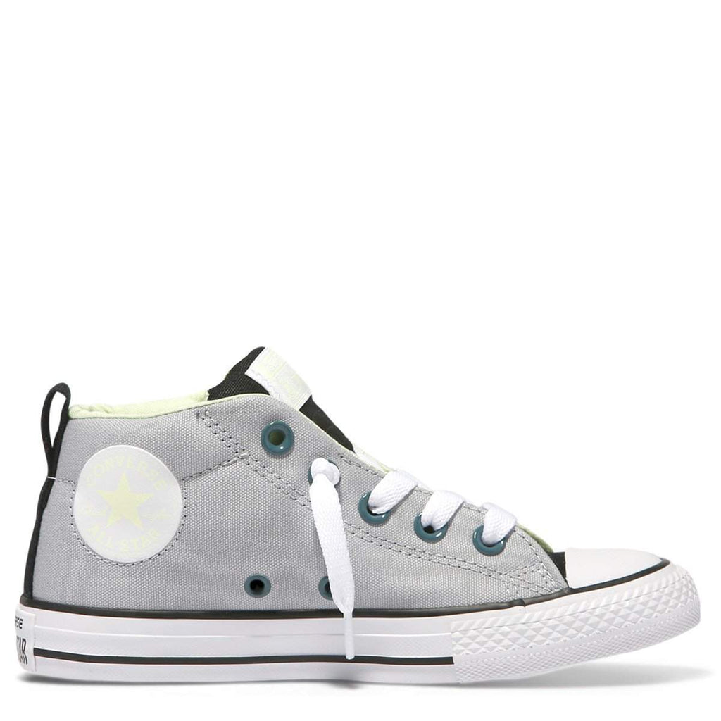 Converse Kids Chuck Taylor All Star Street Youth Mid | Wolf Grey Afterpay