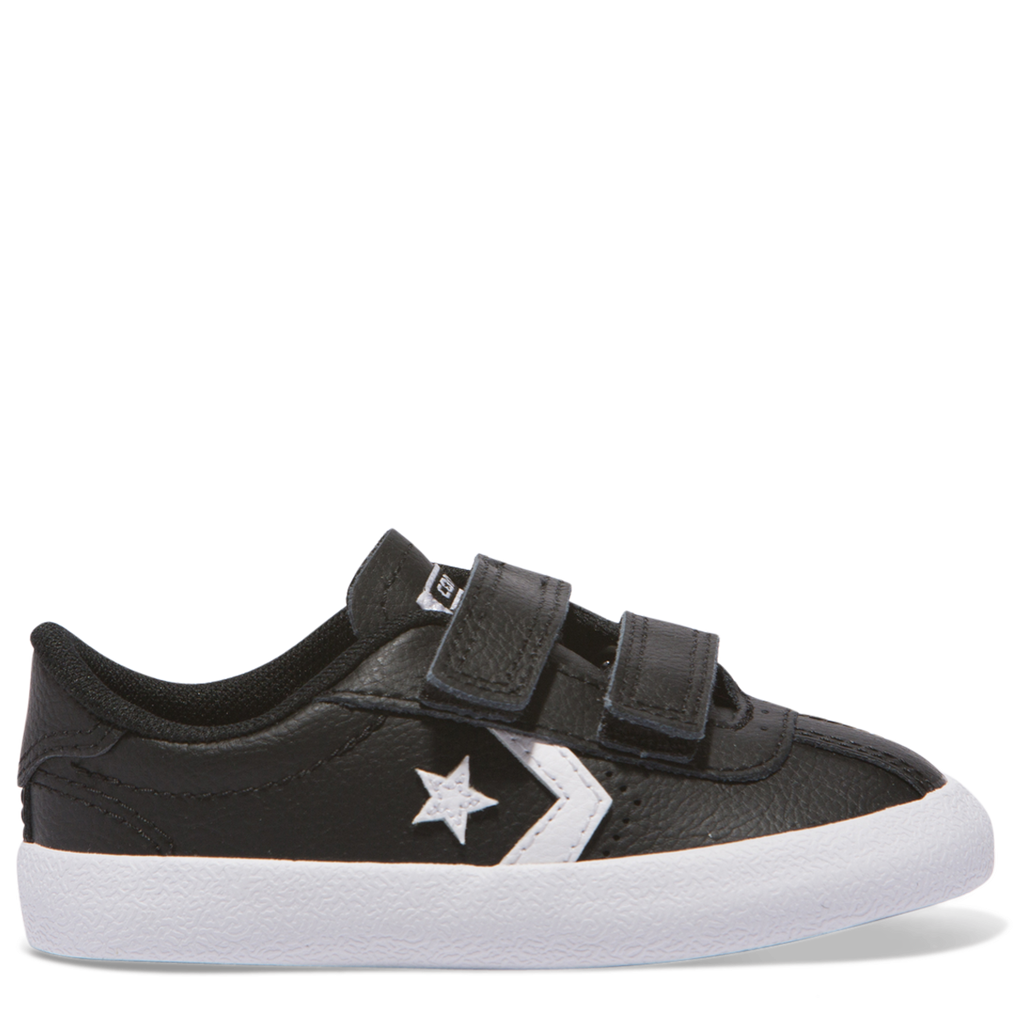 Converse Kids Breakpoint 2V Leather Toddler Low Top Black