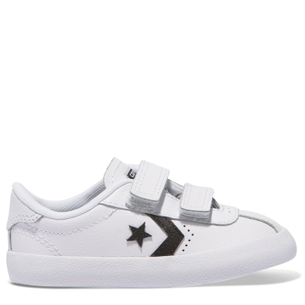 Converse Kids Breakpoint 2V Leather Toddler Low Top White