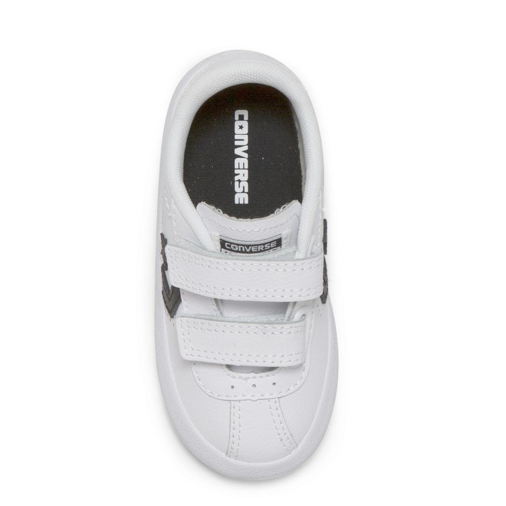 d5579d76f6366c ... Converse Kids Breakpoint 2V Leather Toddler Low Top White ...