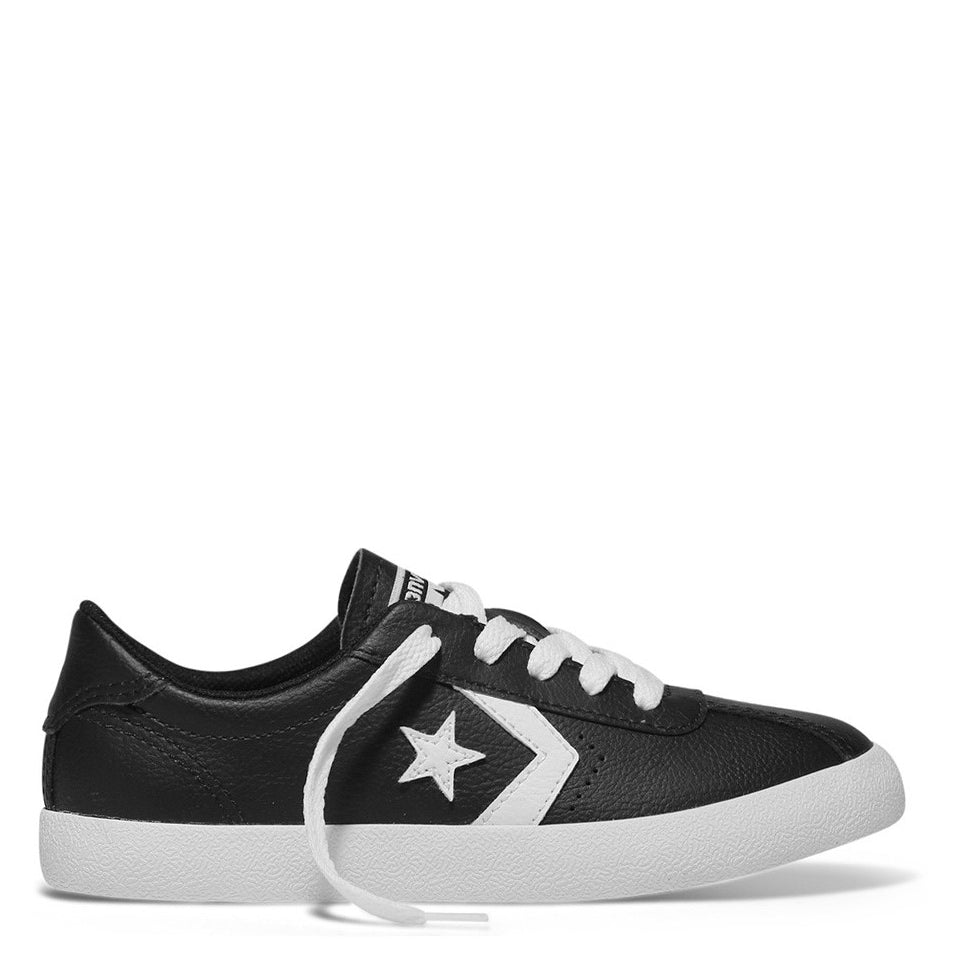Converse Kids Breakpoint Leather Youth Low Top Black