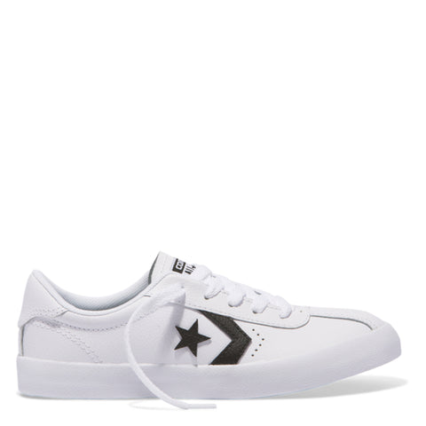 Converse Kids Breakpoint Leather Youth Low Top White