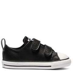 Converse Kids Chuck Taylor All Star Leather Toddler 2V Black | Size US 4 Last One