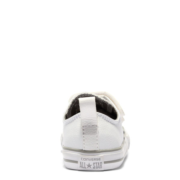 Converse Kids Chuck Taylor All Star Leather Toddler 2V White