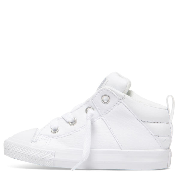 Converse Kids Chuck Taylor All Star Axel Street Toddler Mid Top White
