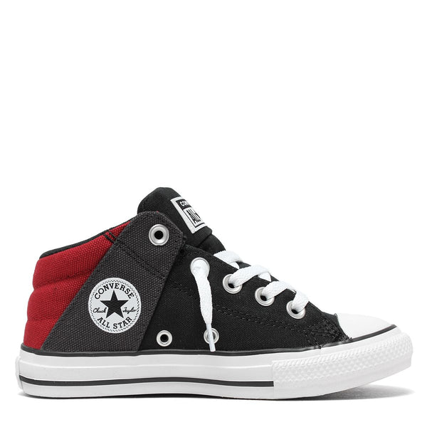Converse Kids Chuck Taylor All Star Axel Canvas Junior Mid Top Black