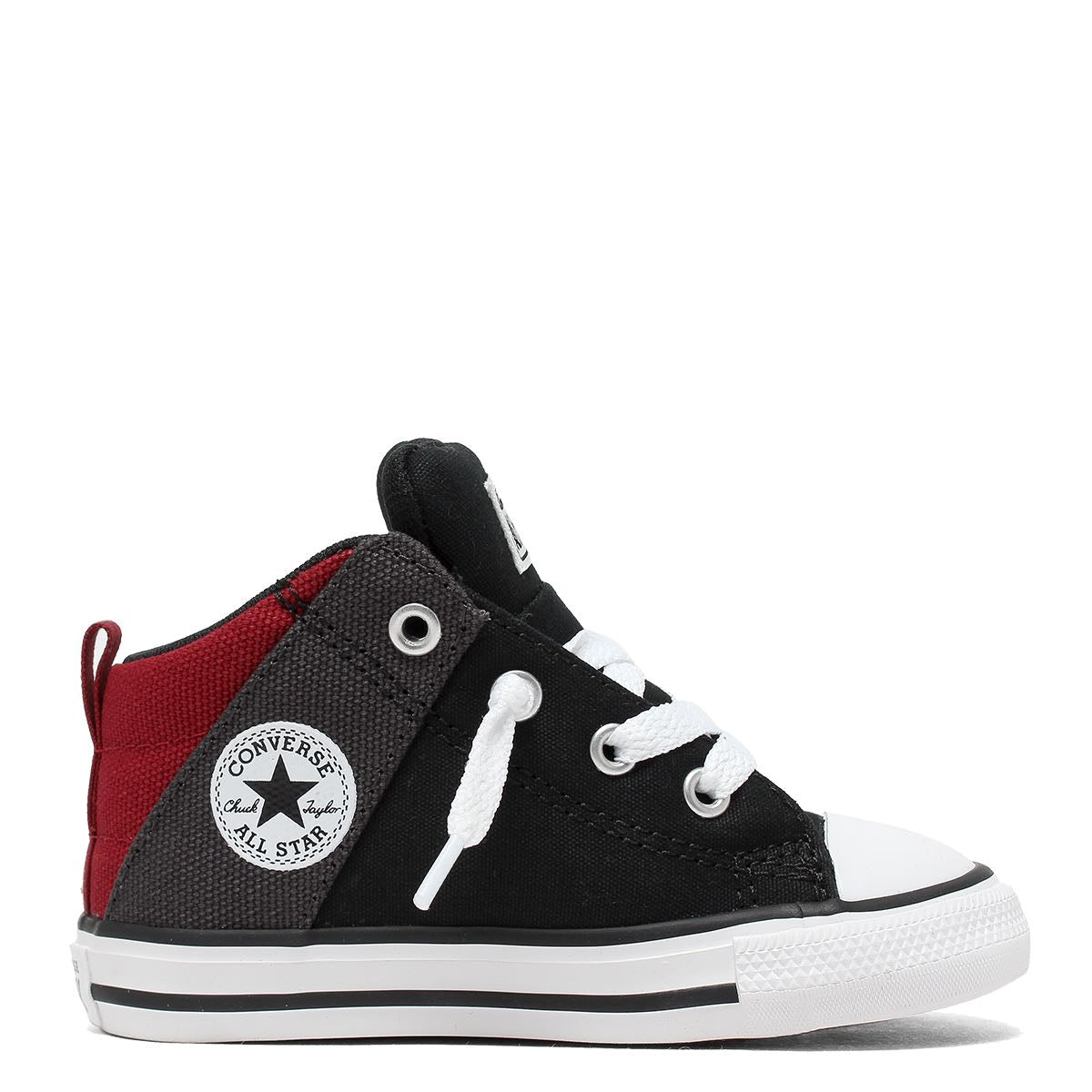 Converse Kids Chuck Taylor All Star Axel Canvas Toddler Mid Top Black