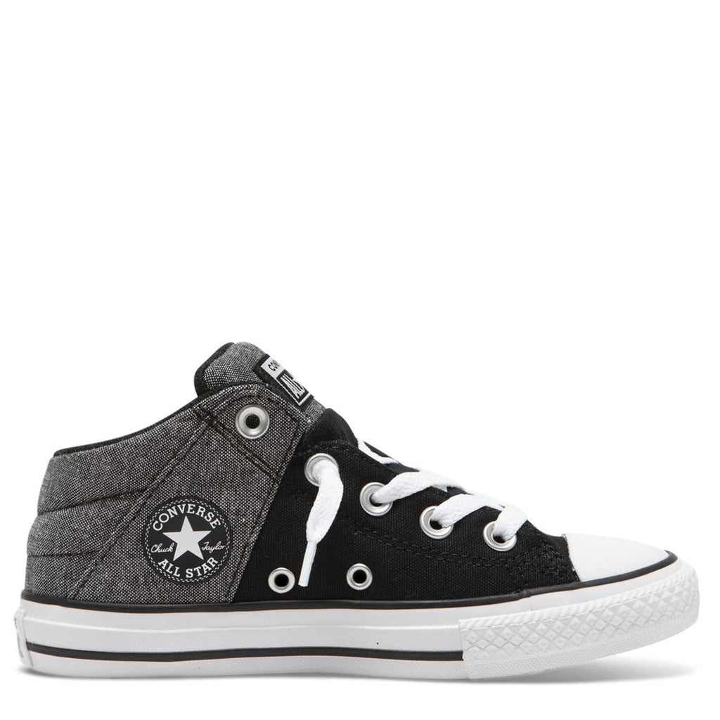 Converse Kids Chuck Taylor All Star Axel Street Junior Mid Top Black