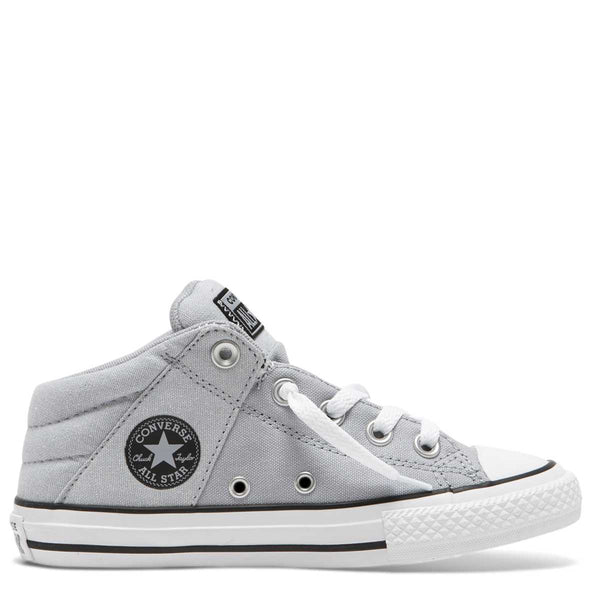Converse Kids Chuck Taylor All Star Axel Street Junior Mid Top Wolf Grey