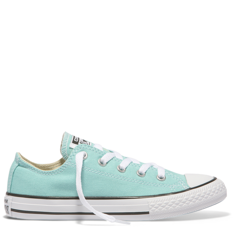Converse Kids Chuck Taylor All Star Fresh Colour Junior Low Top Aqua