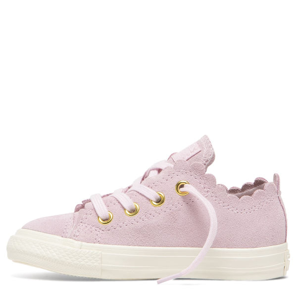 Converse Kids Chuck Taylor All Star Frilly Thrills Toddler Low Top Pink Foam Afterpay