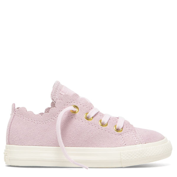 Converse Kids Chuck Taylor All Star Frilly Thrills Toddler Low Top Pink Foam