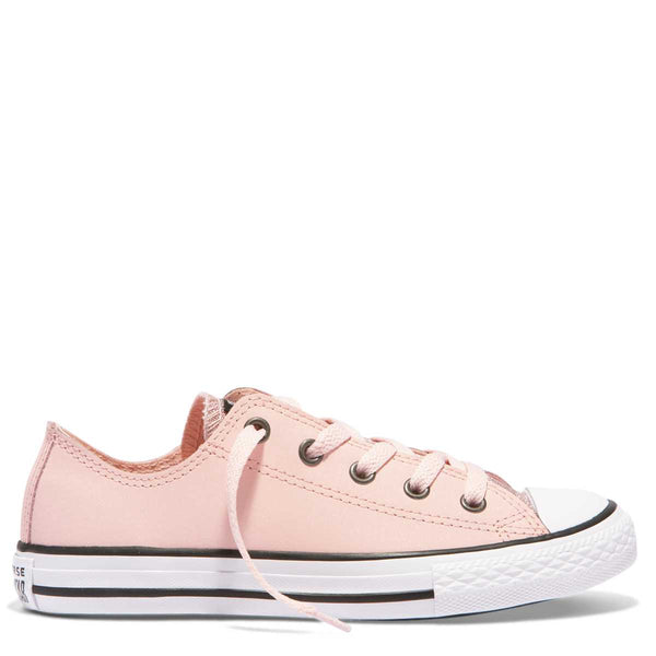 Converse Kids Chuck Taylor All Star Glitter Junior Low Top Storm Pink