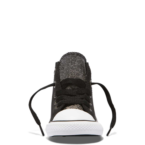 Converse Kids Chuck Taylor All Star Glitter Toddler High Top Black