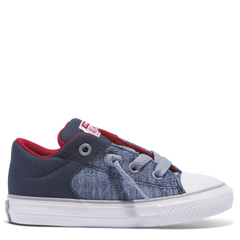 Converse Kids Chuck Taylor All Star Heather Textile Toddler Low Top Navy | Size US 4 Last One