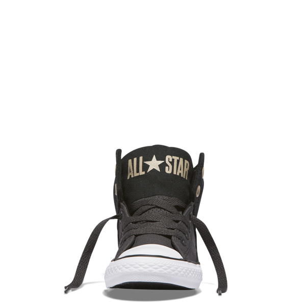 Converse Kids Chuck Taylor All Star High Street Junior High Top Black Afterpay Australia