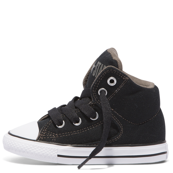Converse Kids Chuck Taylor All Star High Street Toddler Mid Black