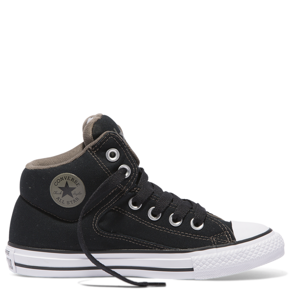 Converse Kids Chuck Taylor All Star High Street Youth Mid Black