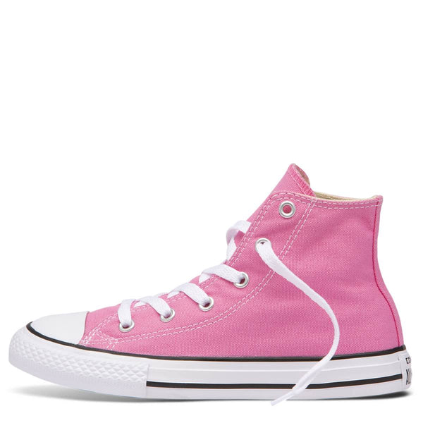Converse Kids Chuck Taylor All Star Junior High Top Pink zipPay