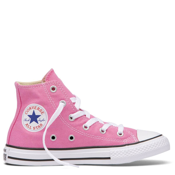Converse Kids Chuck Taylor All Star Junior High Top Pink Afterpay