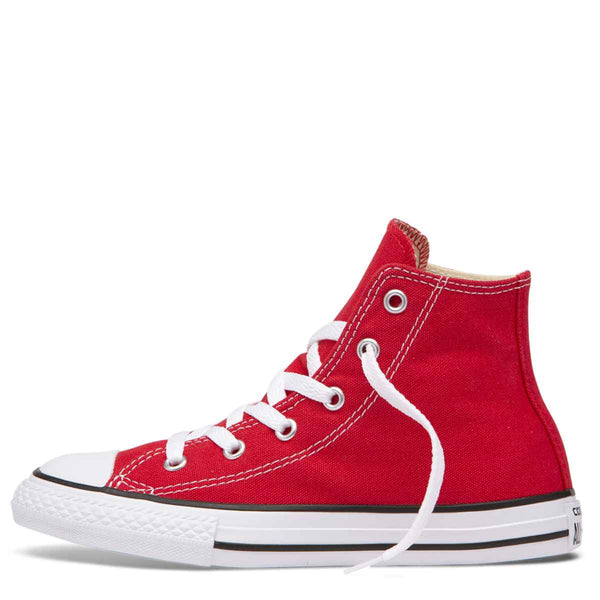 Converse Kids Chuck Taylor All Star Junior High Top Red zipPay