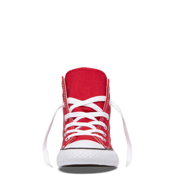 Converse Kids Chuck Taylor All Star Junior High Top Red Shoes Online