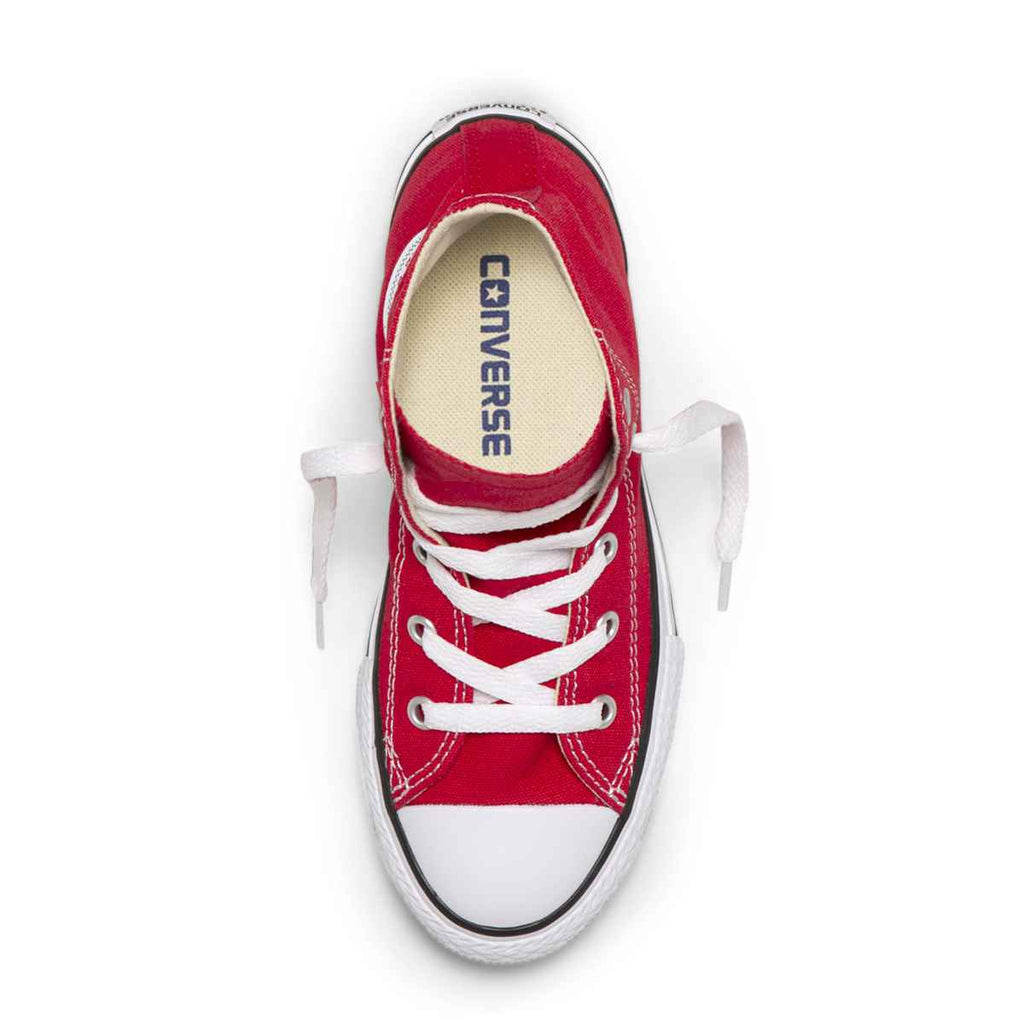 ... Converse Kids Chuck Taylor All Star Junior High Top Red Boys Shoes 6a1278355