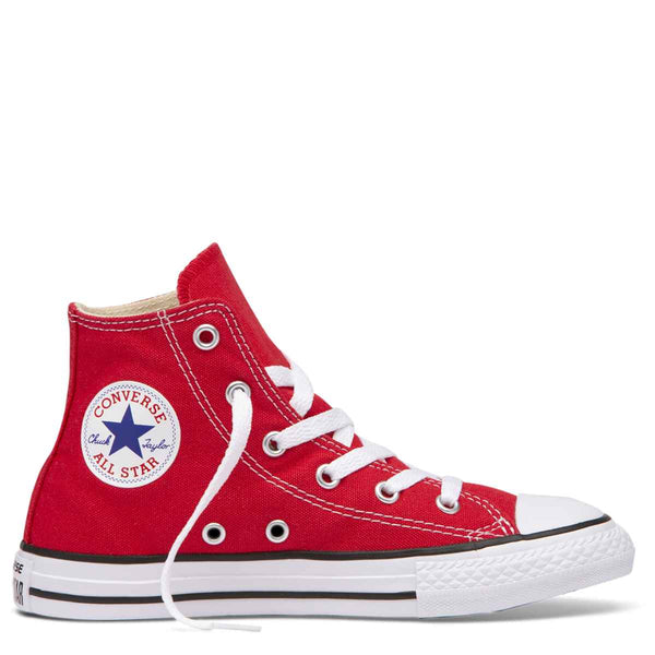 Converse Kids Chuck Taylor All Star Junior High Top Red Afterpay