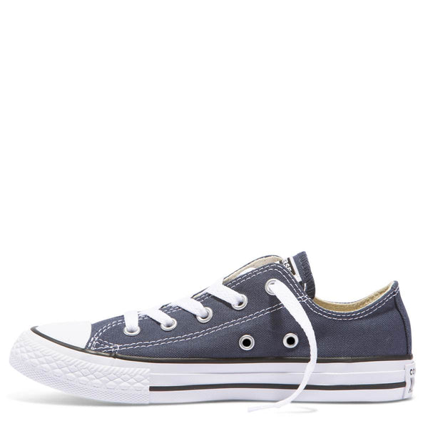 Converse Kids Chuck Taylor All Star Junior Low Top Navy zipPay