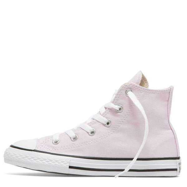 Converse Kids Chuck Taylor All Star Junior Seasonal Colour High Top Pink Foam Afterpay