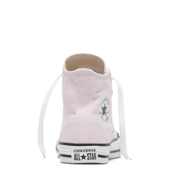 Converse Kids Chuck Taylor All Star Junior Seasonal Colour High Top Pink Foam Girls Shoes