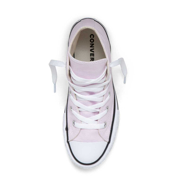 Converse Kids Chuck Taylor All Star Junior Seasonal Colour High Top Pink Foam Girls Sneakers